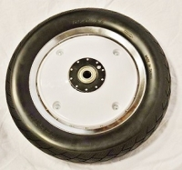 Solid Tire & Wheel (Rear) AM-12 / AM-12S