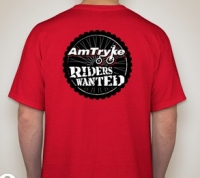Wanted Riders T-shirt