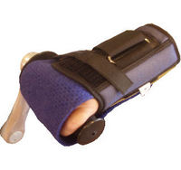Left Wrist Brace Holding Mitt Available in 5 Sizes