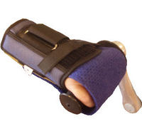 Right Wrist Brace Holding Mitt Available in 5 Size